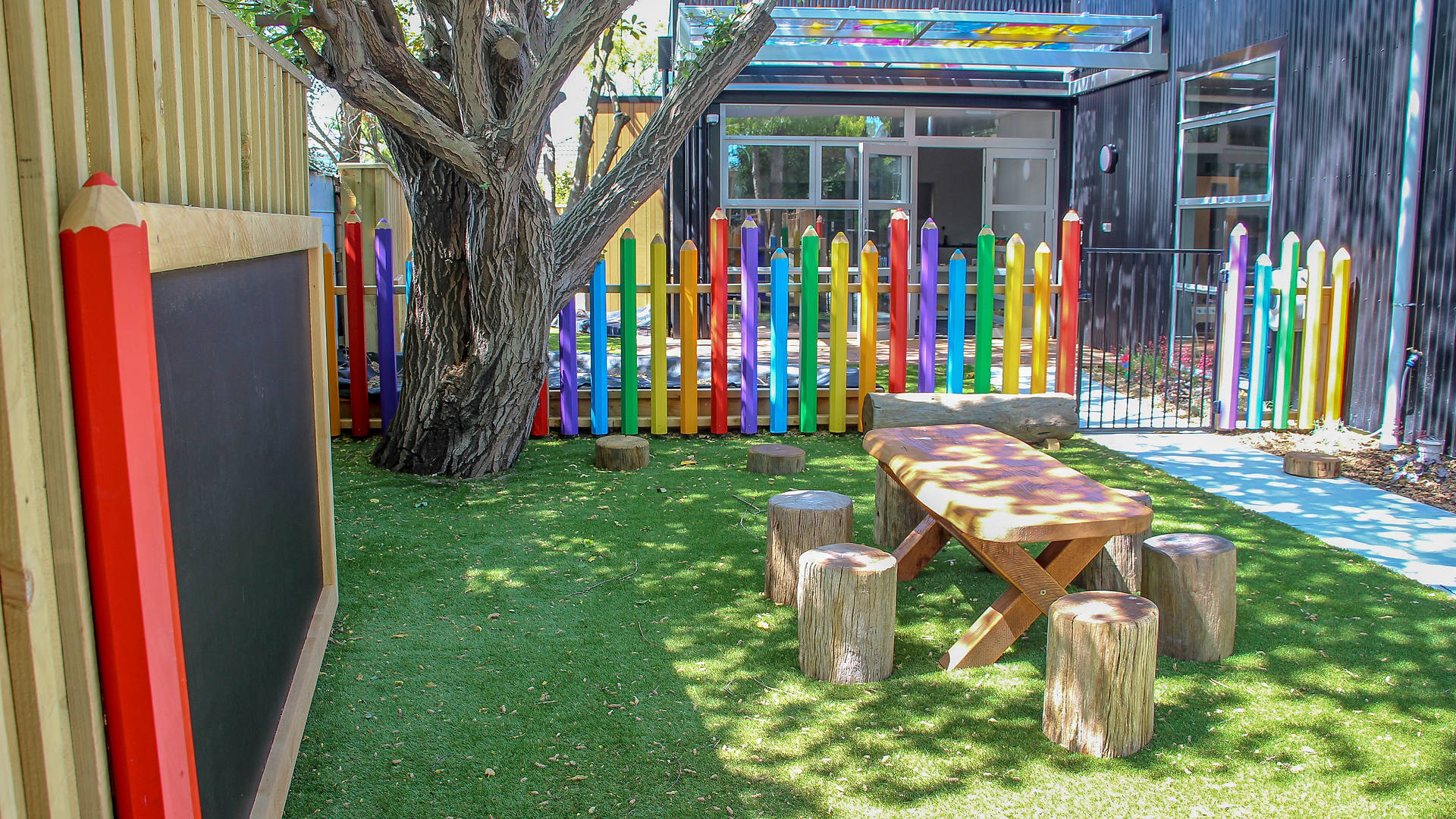 Discovery Junction Preschool, Landscape design