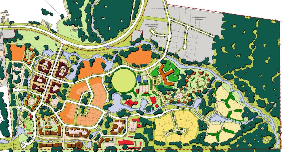 Franz Joseph alpine resort master plan design