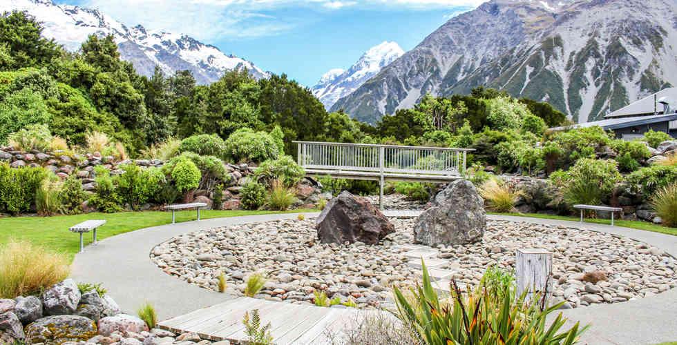 Mt Cook Visitor Centre Garden Design