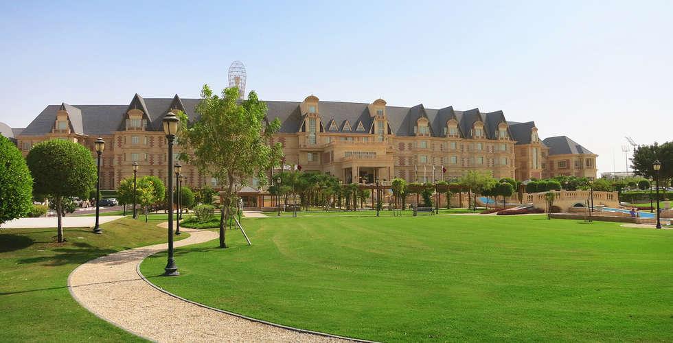 Grand Heritage Hotel landscape design