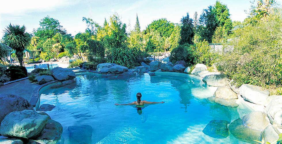 Hanmer hot pools landscape design