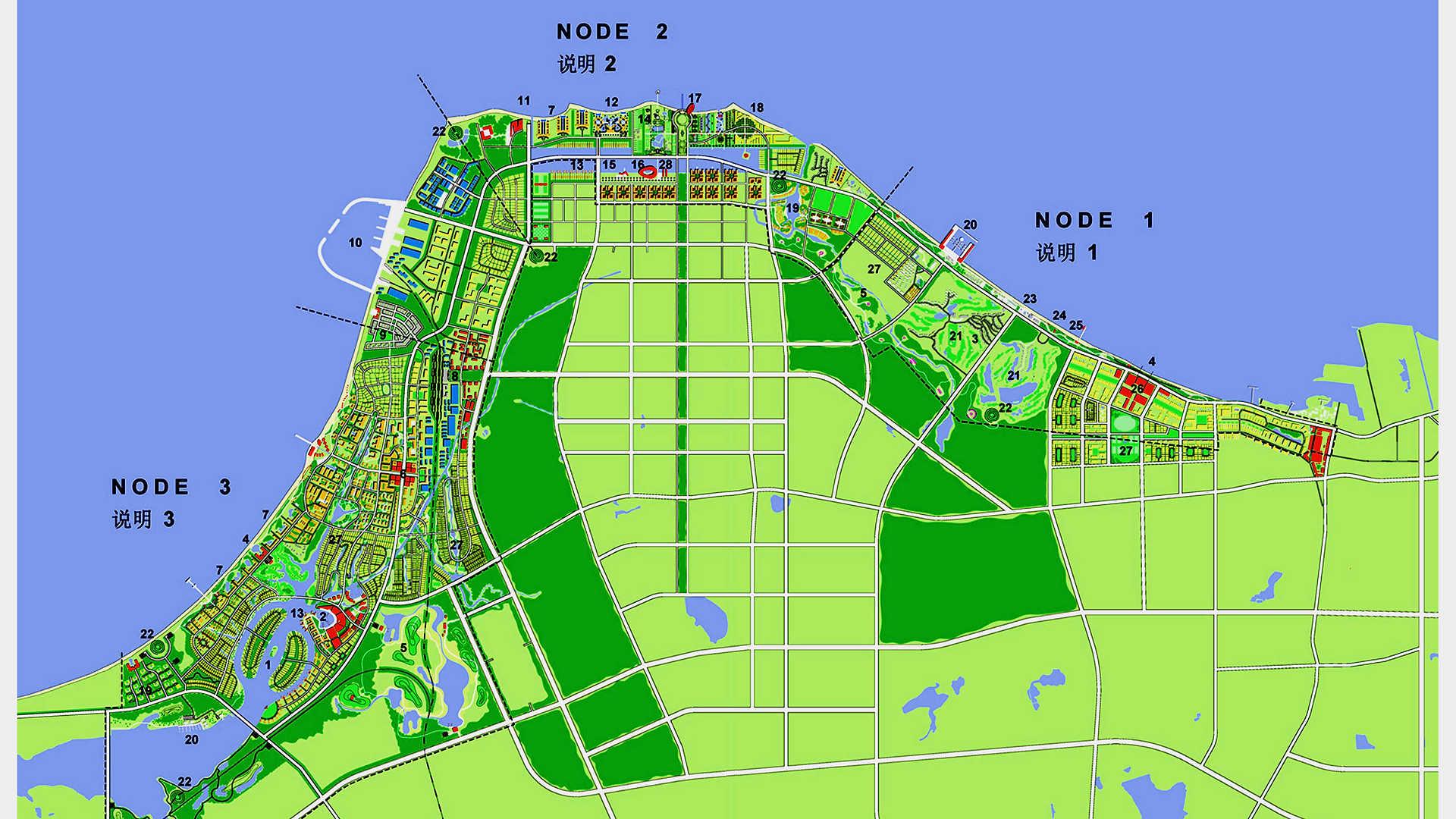 Haikou West Masterplanning, China