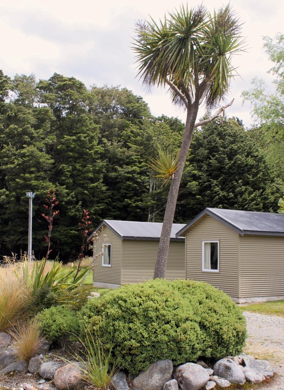 Borland Lodge, Southland Huts and Planting