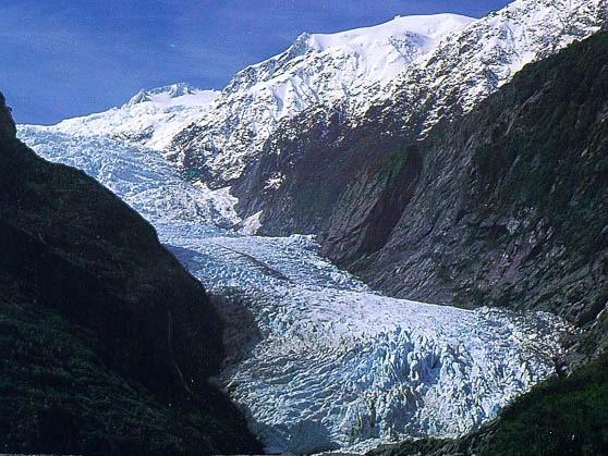 Glacier at Franz Joseph