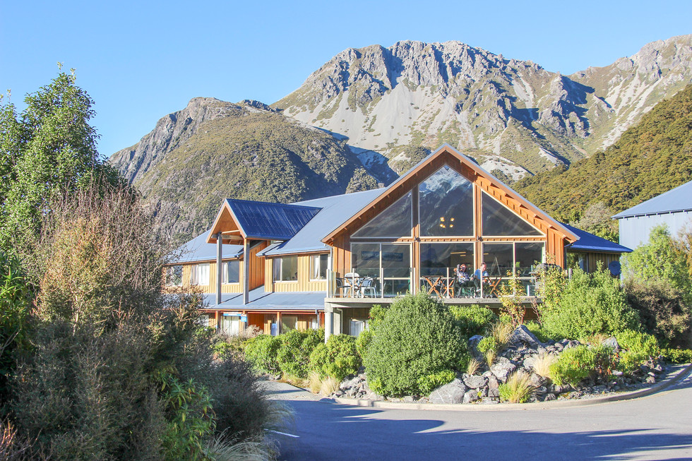 mt cook village landscape design