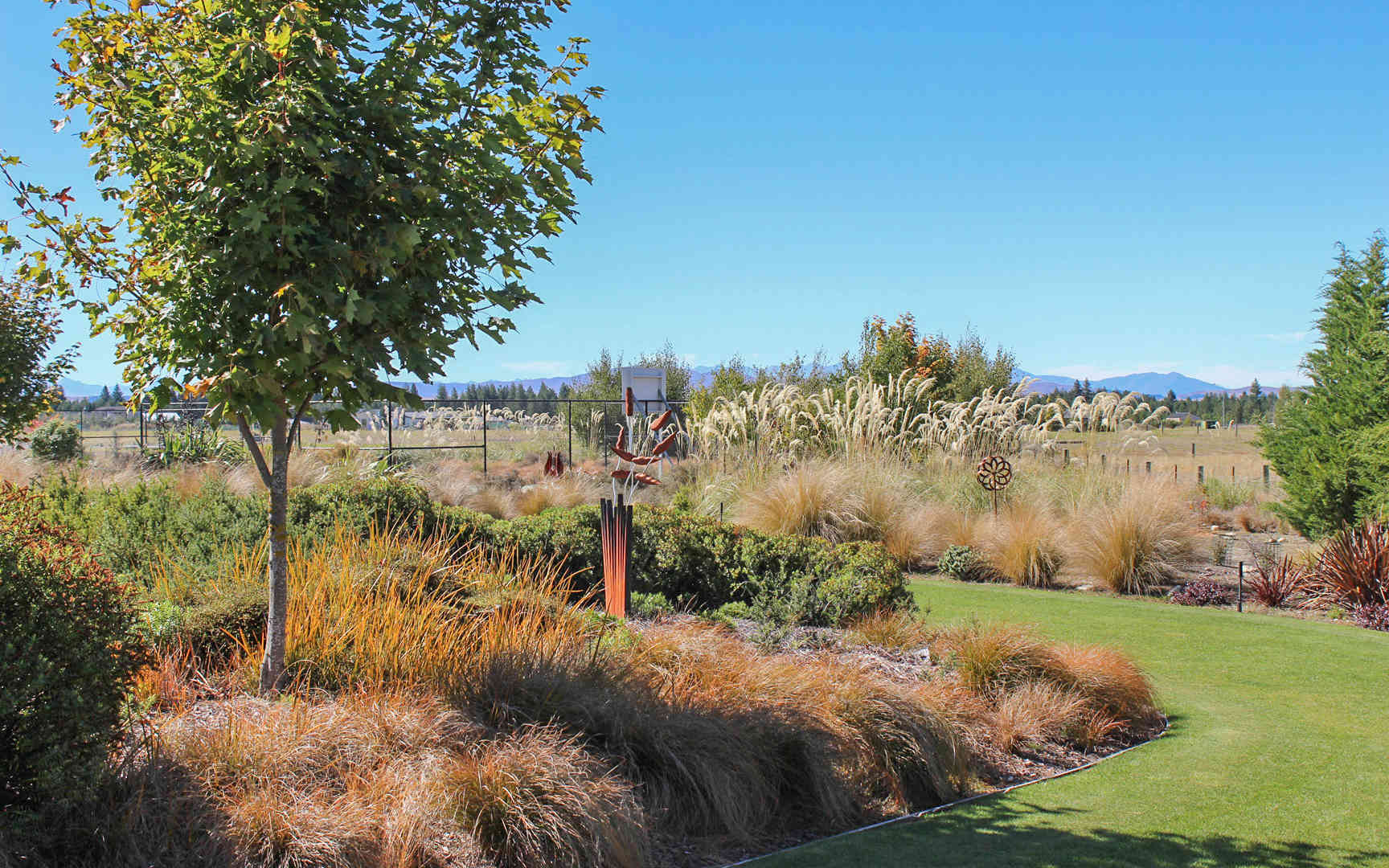 Twizel Residence garden design