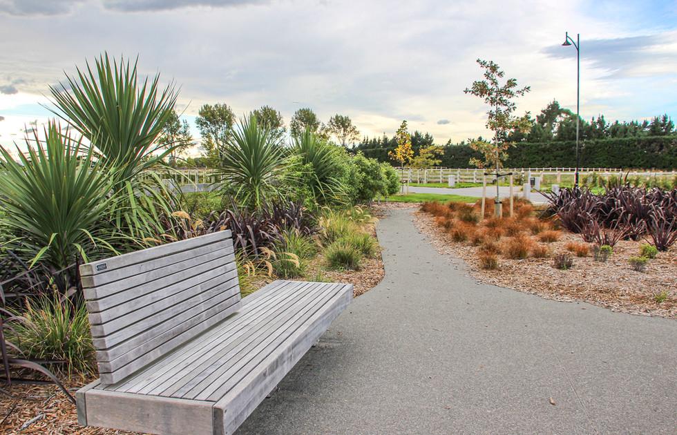 Reserve landscape design, Rolleston.JPG