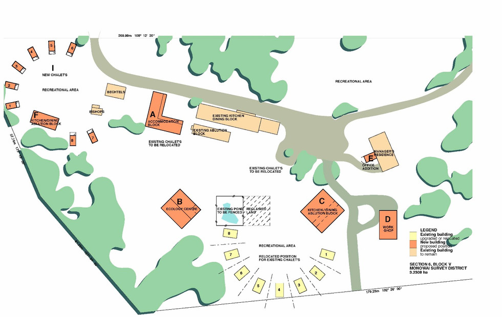 Borland Lodge, Southland Master Planning