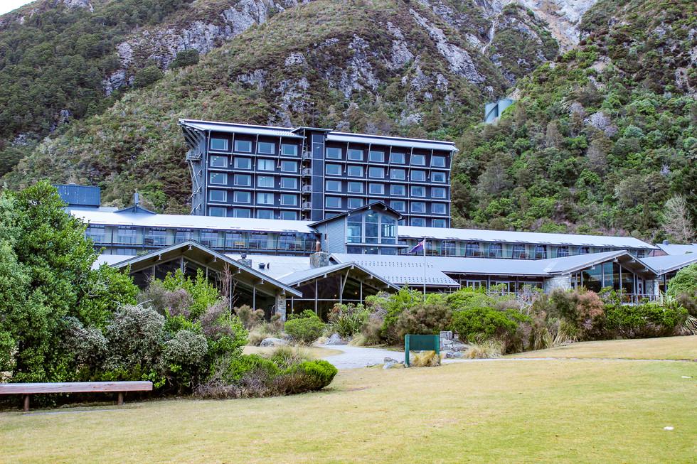 Mt Cook Hermitage landscape design