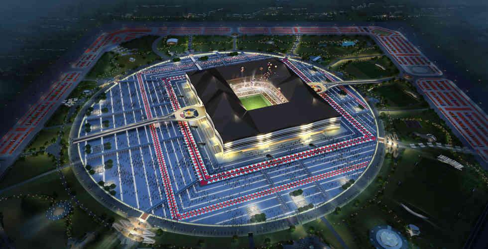 Al Bayt Stadium landscape design