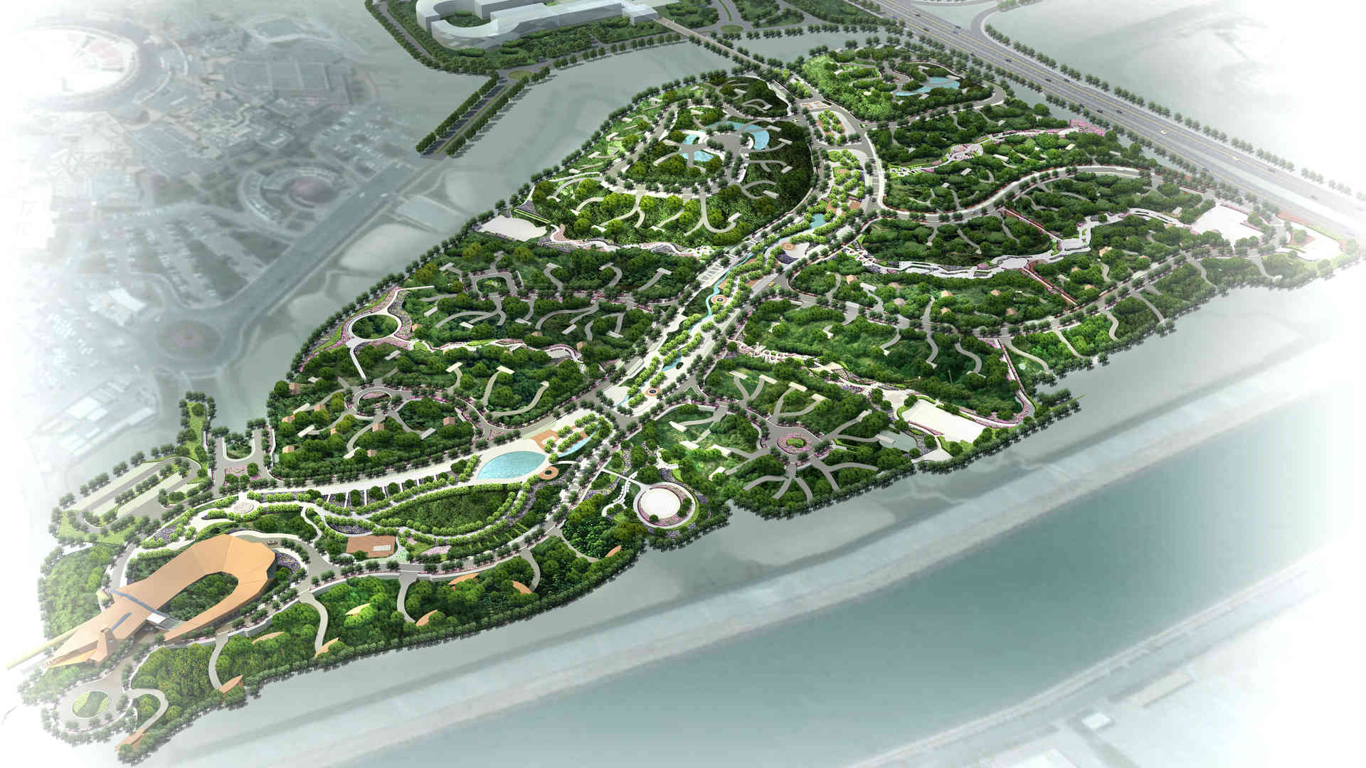 Katara Park Landscape masterplanning