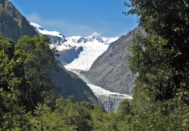 Glacier Valley at Franz Joseph