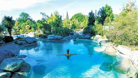 Hanmer Springs Pools, New Zealand