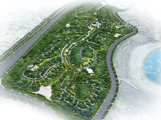 Katara Park, Masterplanning land planning, Doha, Qatar