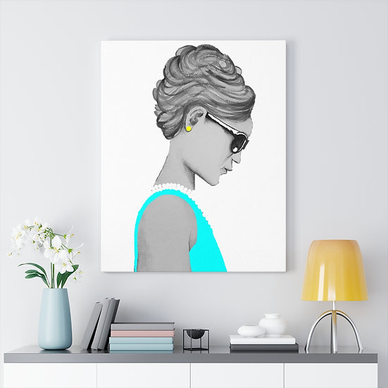 Classy and Sassy Audrey Canvas Gallery Wraps