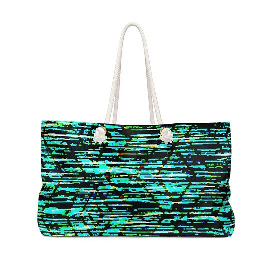 Blurred Lines Weekender Bag