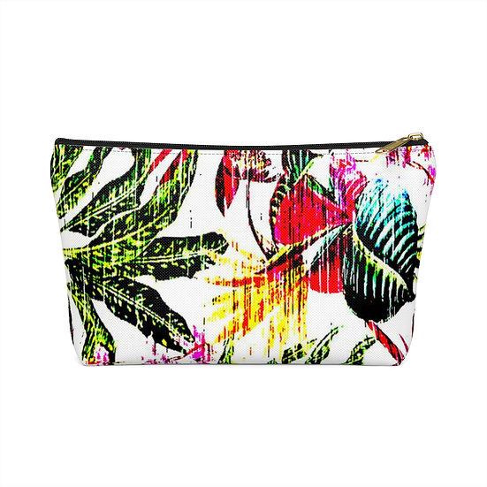 Bright Tropics Accessory Pouch w T-bottom