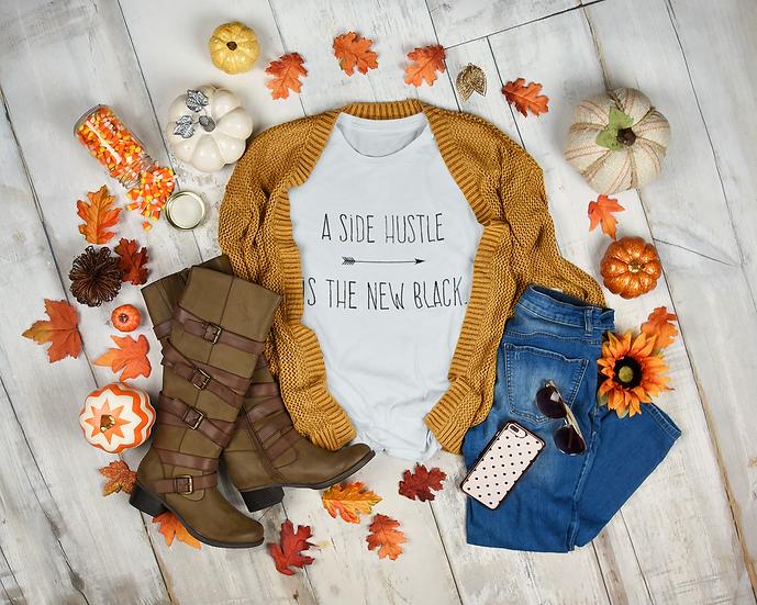 Side Hustle Unisex Crewneck Sweatshirt