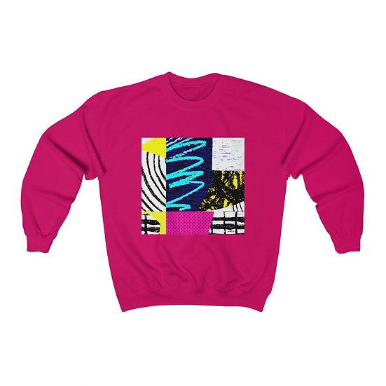 Retro Scribbles Sweatshirt