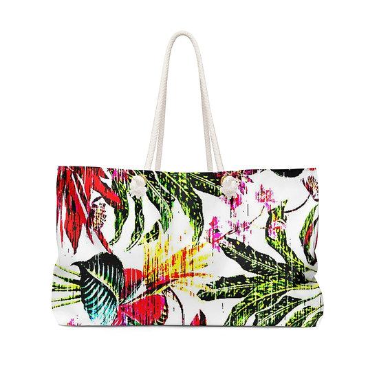 Bright Tropics Weekender Bag