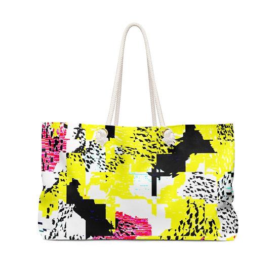 Mellow Yellow Weekender Bag