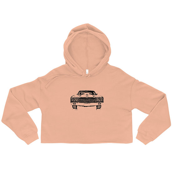 Chevy SS Crop Hoodie