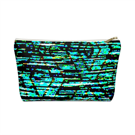 Blurred Lines Accessory Pouch w T-bottom