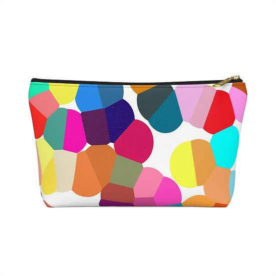 Retro Bubbles Accessory Pouch w T-bottom