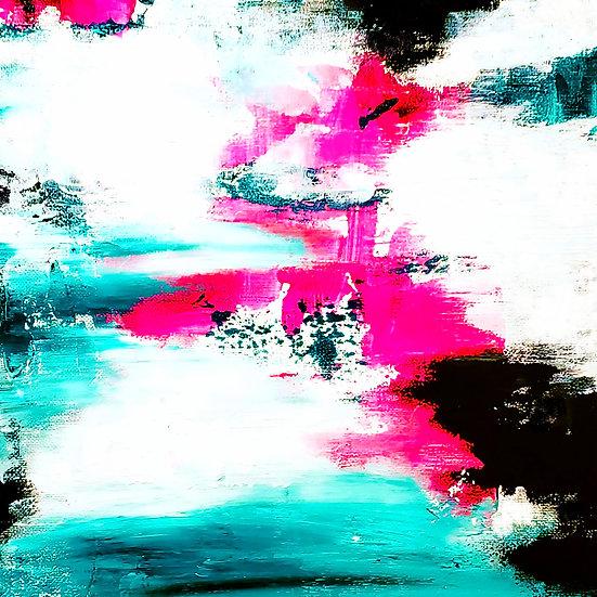 Waves of Change Metal Print
