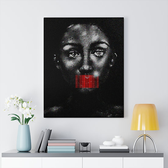 Your Silence Can Be Bought Canvas