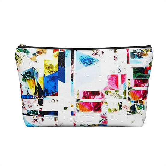 Floral Building Blocks Accessory Pouch