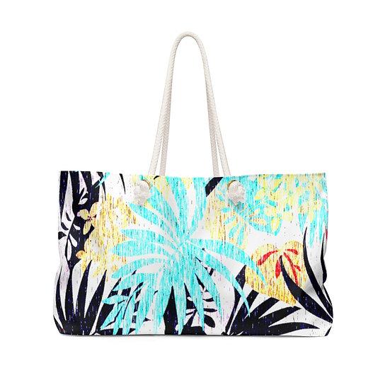 Pastel Palms Weekender Bag
