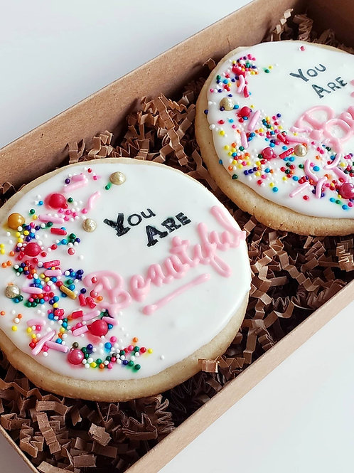 Decorated Cookies- 2pk