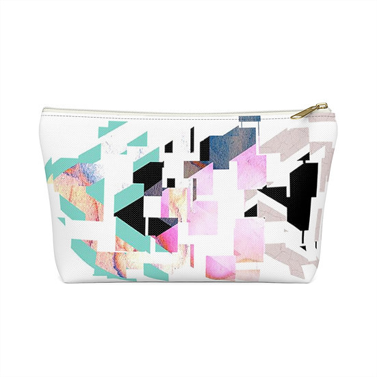 Broken Angles Accessory Pouch w T-bottom