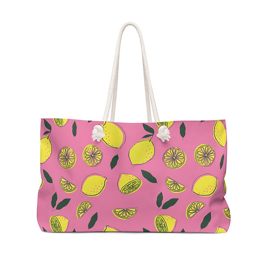 When Life Gives You Lemons Weekender Bag