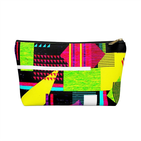 Blocked Out Accessory Pouch w T-bottom