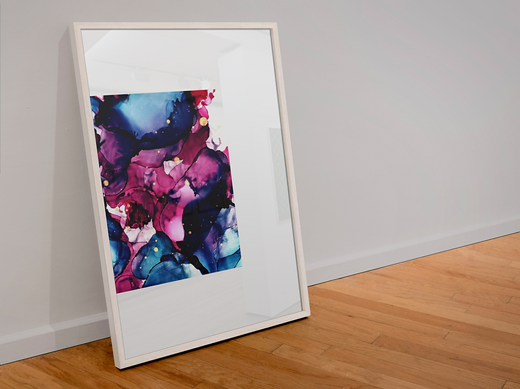 Dipped In Ink Giclée Art Print