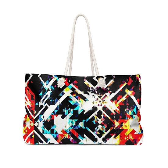 Digital Grooves Weekender Bag