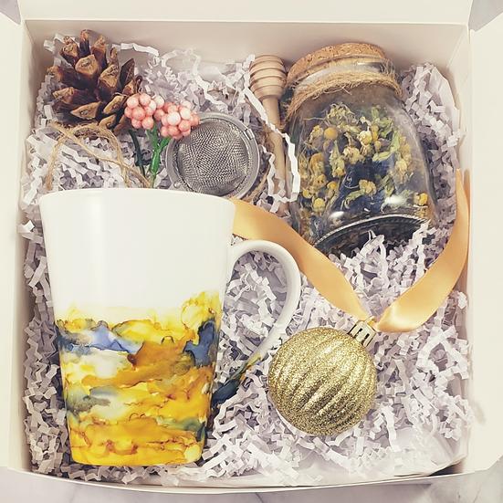 Floral Tea Box