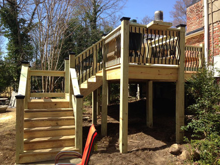 South Point One Contractors Decking