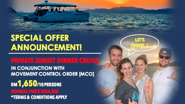 HOT SALE - PROMO MCO PRIVATE SUNSET DINNER CRUISE - CAT 36