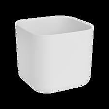 Elho b.for+soft+square+14cm+white+871190