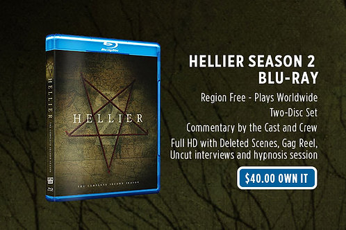 Hellier Season Two Blu-ray