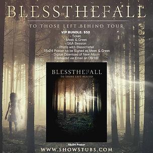 Blessthefall Album Cover