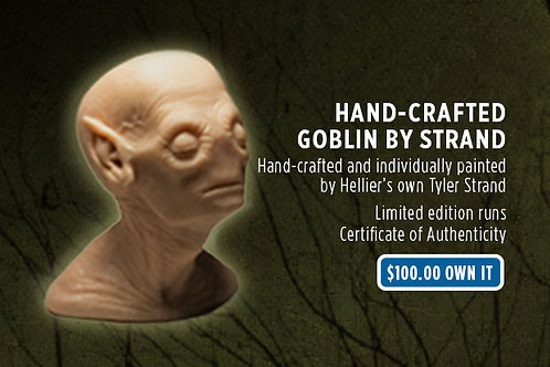 Hand-Crafted Goblin Bust
