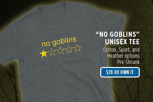 """No Goblins, One Star"" Unisex Tee"