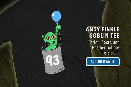 """Goblin"" by Andy Finkle (Unisex)"