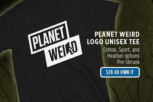 Planet Weird Logo Tee (Unisex)