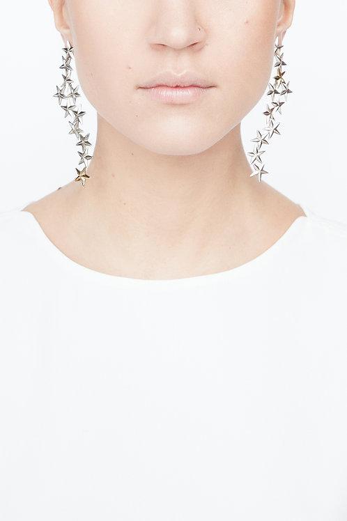 Boucles d'oreilles Etoiles d'argent