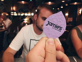 Food and Travel Diary - Jamie's Italian